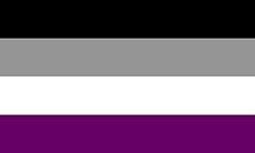 Retângulo dividido em quatro cores: preta, cinza, branca e roxa.