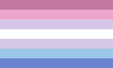 Bandeira bigênero