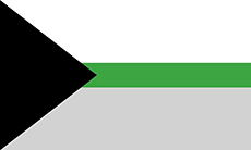 Bandeira demirromântica