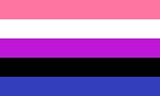 Bandeira gênero-fluido
