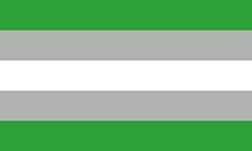 Bandeira grey-arromântica