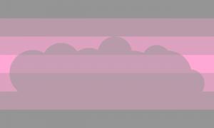 Bandeira Mulher-neblina