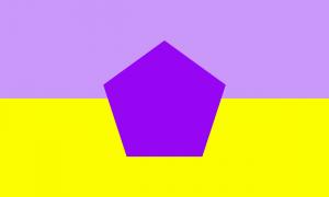 Bandeira gênero neutro