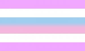 Bandeira intersexo (também bigênero)?