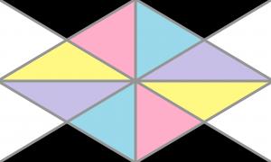 Bandeira mosaigênero