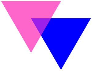 Biângulos, ou triângulos bissexuais