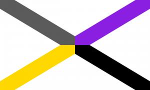 Bandeira Gênero X