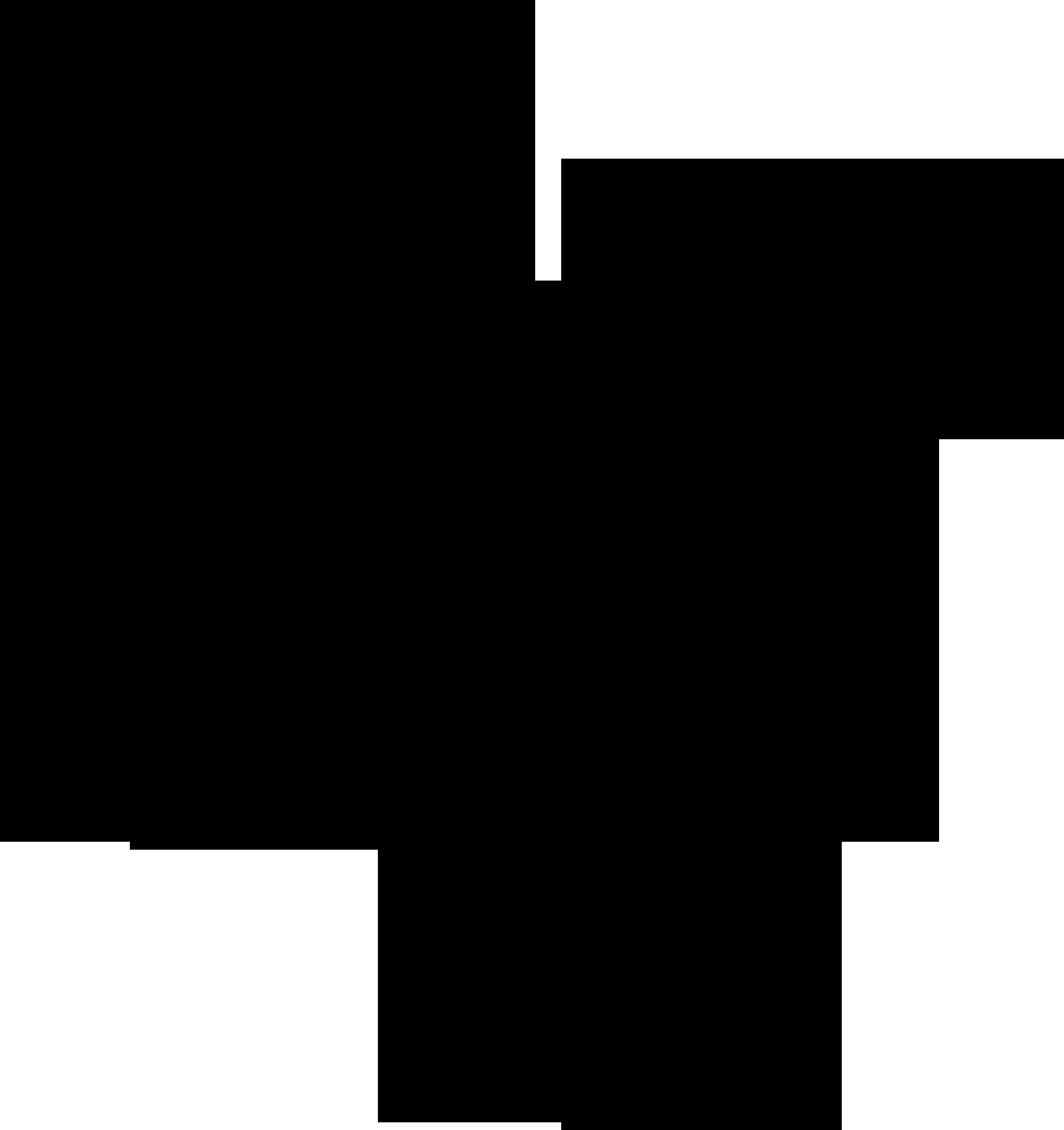 Nonbinary symbol interlocked with a nonbinary man and woman symbol.