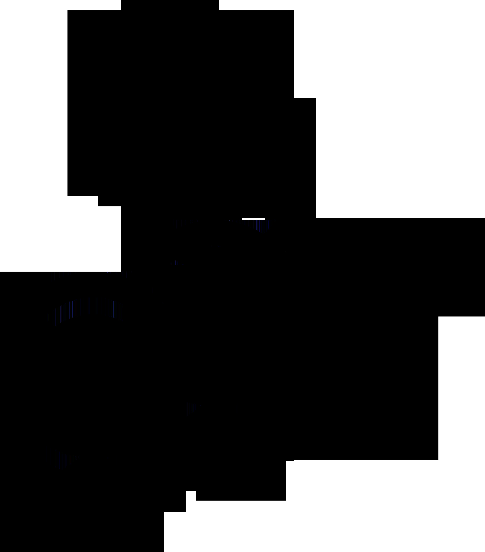 Nonbinary woman symbol interlocked with nonbinary, Venus and Mars symbols.