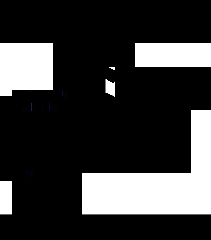 Nonbinary symbol interlocked with Venus and Mars symbols.