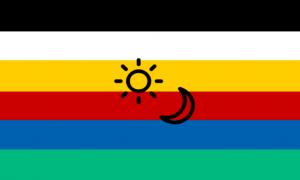 Bandeira Dois Espíritos